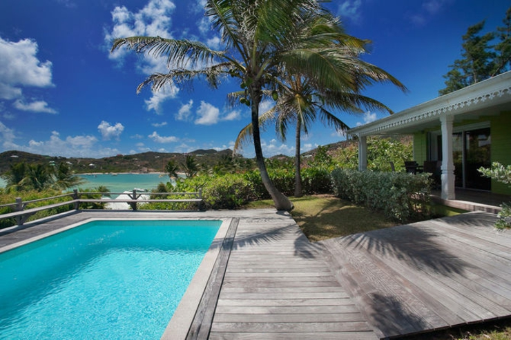 exotic luxury vacations st barts villa