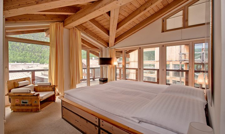 zermatt luxury chalet ski resort