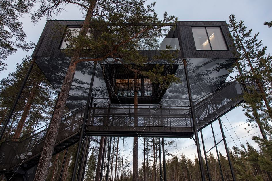 Get a Unique Experience Visiting TreeHotel 7th Room