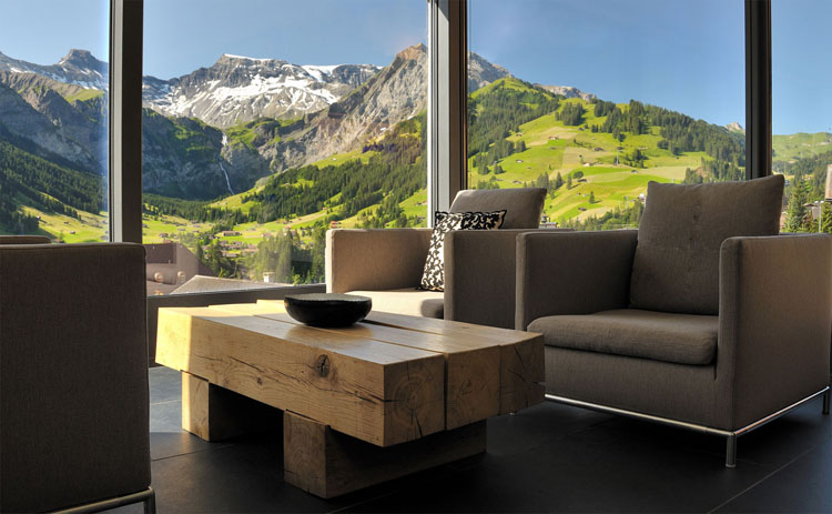 Great Panorama Over The Mountain Modern Hotel In Switzerland Good Ideas