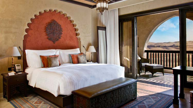Luxury suite qasr al sarab palace desert