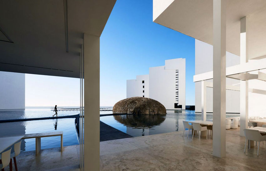 simple and luxury design hotel los cabos mar adentro mexico