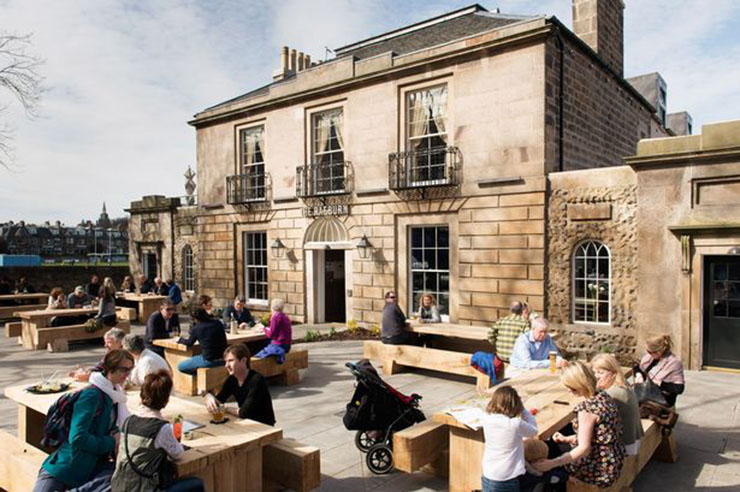 Visit Stockbridge Edinburgh And Enjoy Calmness Of The Raeburn Hotel Restaurant