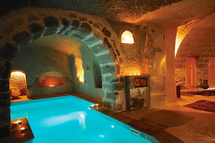 Amazing Cave Swimming Pool For Unique Experience In Cappadocia