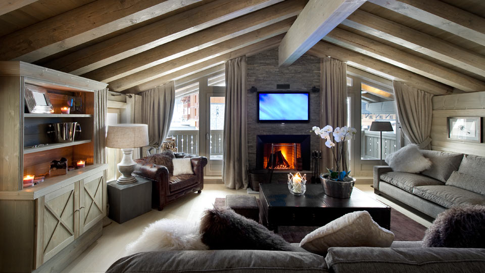 cozy chalet for rental Val d'Isère french resort