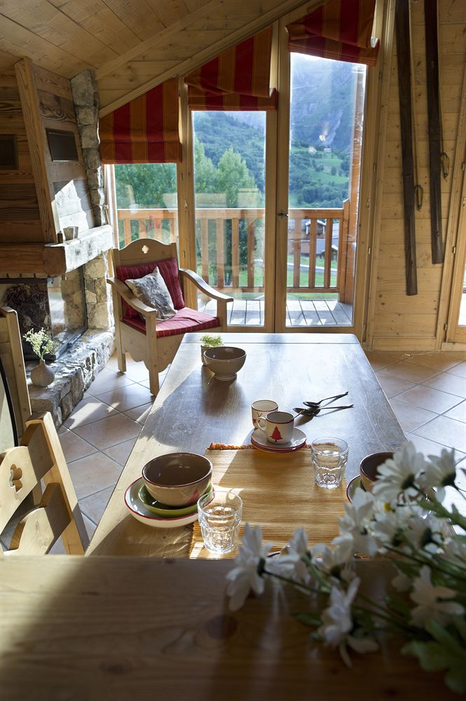 chalet suite balcony view french alps