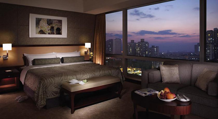 Shangri la a luxury hotel in the heart of chengdu for Luxury hotel sites