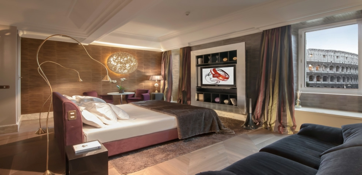 luxury furnished stylish suites rome