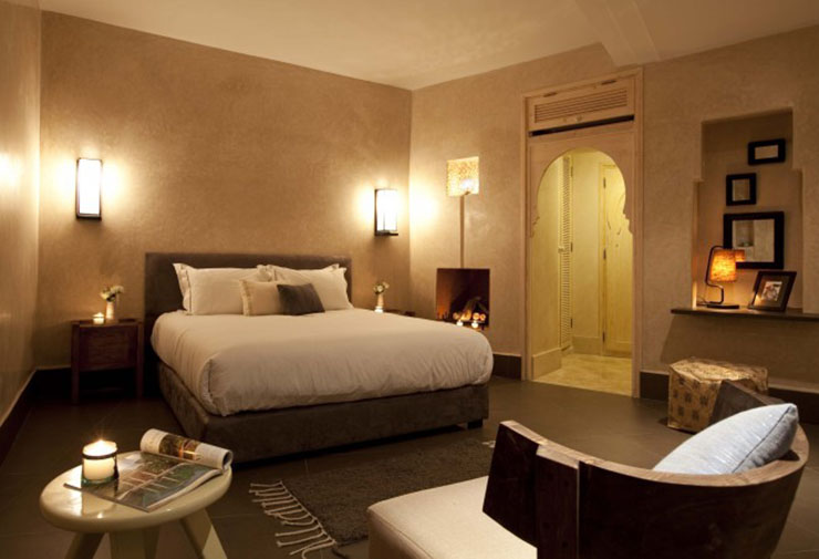 Dar maya a luxury moroccan hotel near the ocean for Stylish hotel rooms