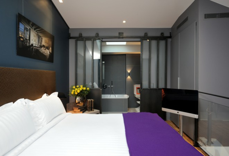duplex luxury suite boutique hotel in Paris