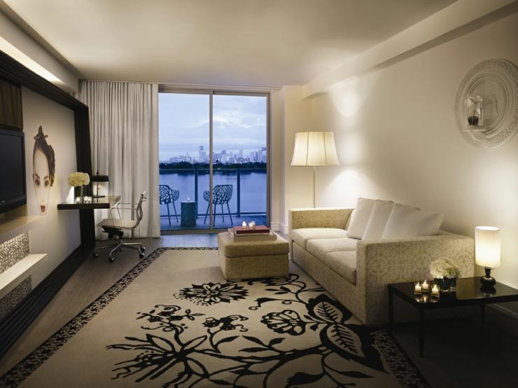 Unique luxury hotel in miami mondrian south beach hotel for Luxury beach boutique hotels