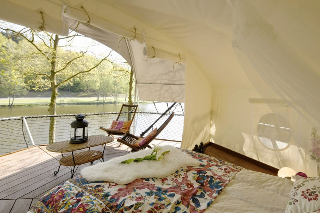 cozy furniture green eco tent tourism lake & Ecolodge u0026 glamping u2013 a new way to appreciate nature