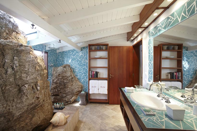 Eden Rock Suite's Bathrooms are State of Art