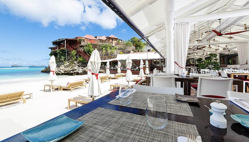 Enjoy a Perfect Day at Eden Rock Beach Bar in St.Barths