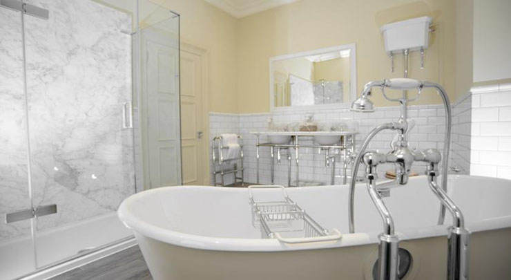 luxury victorian style bathroom boutique hotel edinburgh