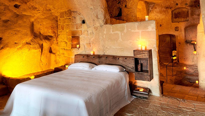 Executive Suite with Rustic Style in South Italy Sextantio Hotel