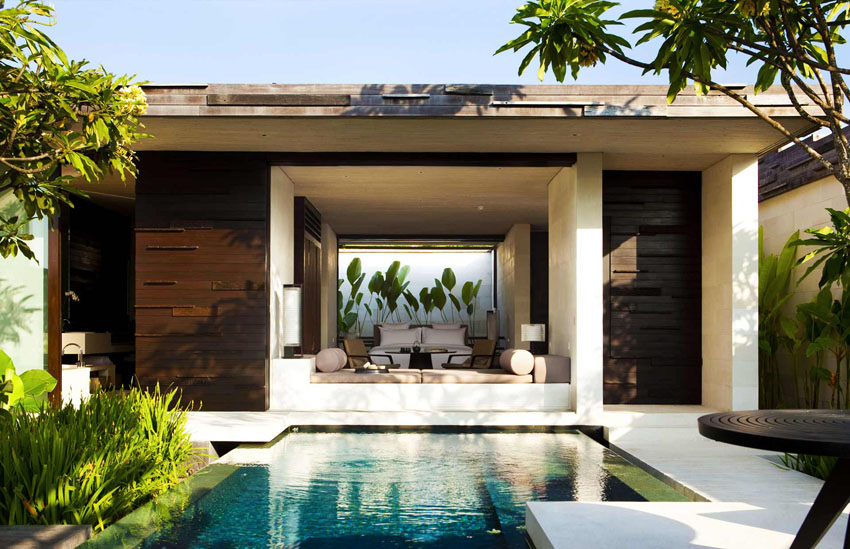 Indonesian villa architecture luxury rental alila bali
