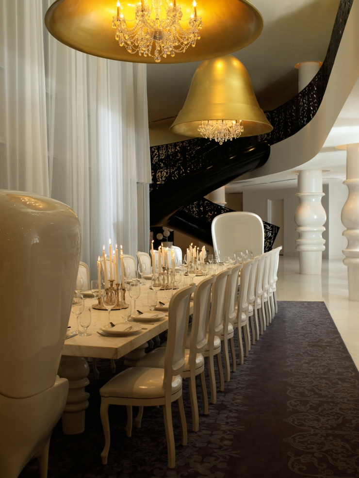 luxury restaurant hotel mondrian south beach miami