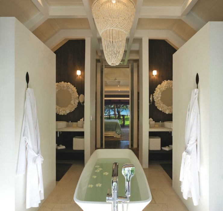 luxury exotic fiji resort bathroom