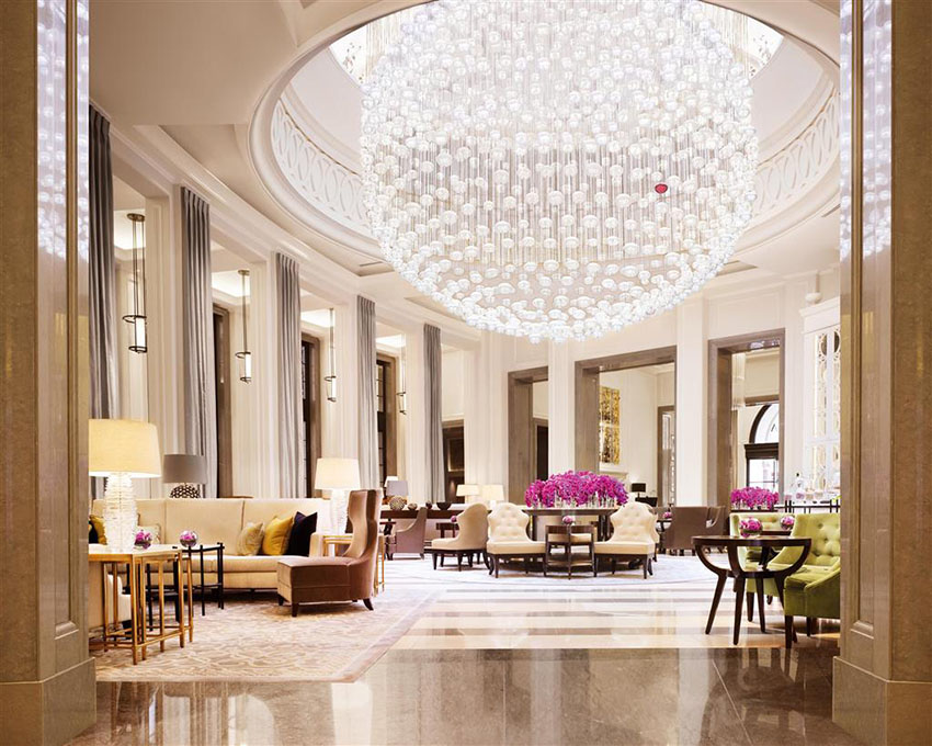 corinthia lobby luxury stay hotel london