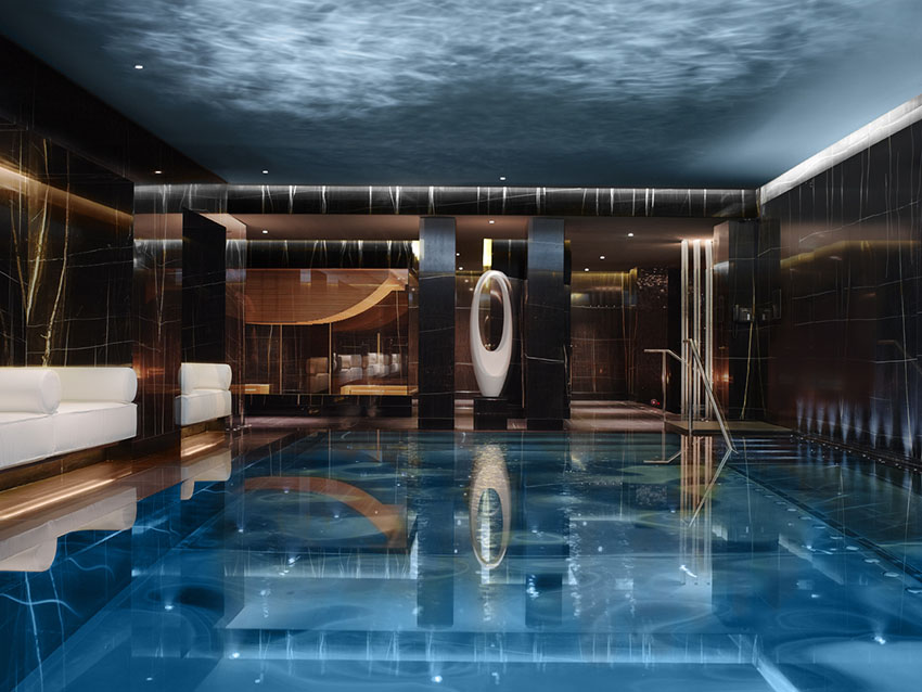 luxury spa hotels london