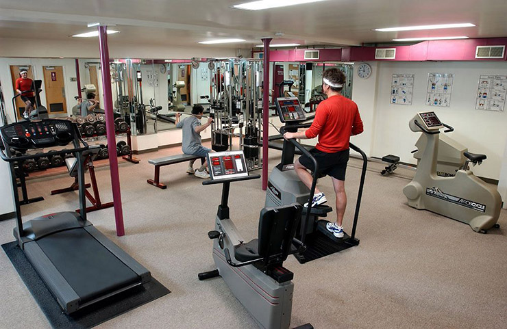 fitness gym health club jackson hole hotel