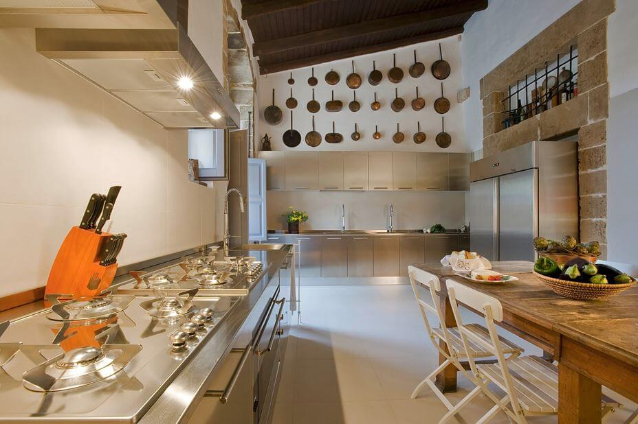 The Villa has Fully Equipped Kitchen