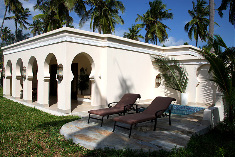 Luxury villa at baraza resort in zanzibar