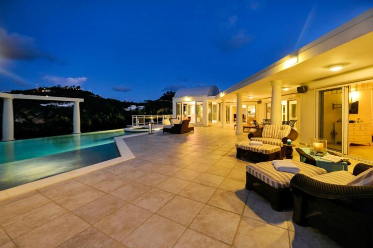 Caribbean Exotic Luxury Villa On St Martin Island