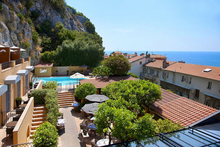 Adorable hotel la perouse in nice for Boutique hotel nice