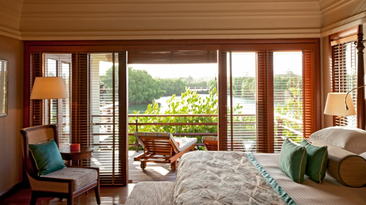 nice exotic view hotel mauritius suite design