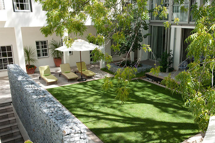 the oldest existing south africa hotel beautiful garden
