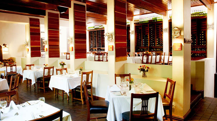 indoor south africa cape style hotel restaurant