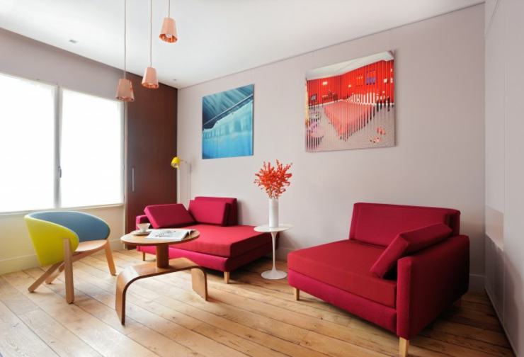 elegant stylish interior decoration boutique hotel in paris