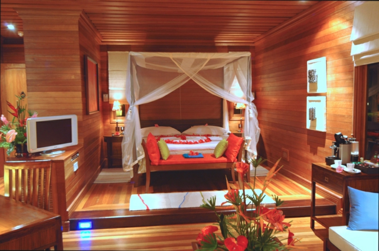interior stylish exotic villa seychelles resort