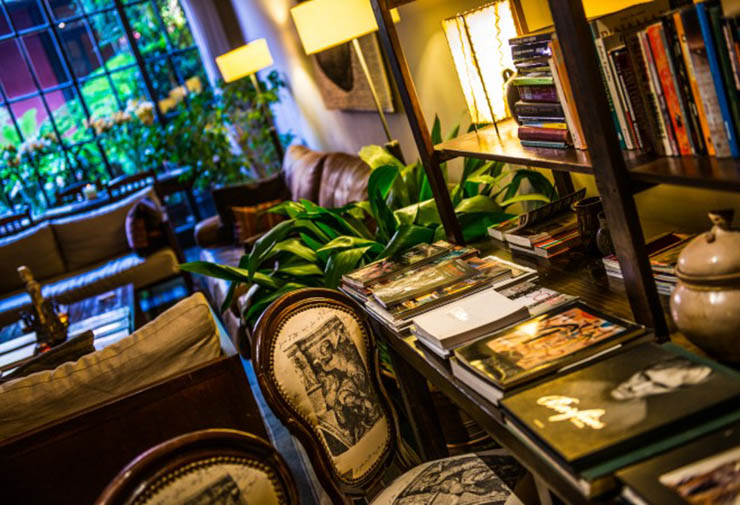 hotel library luxury holiday argentina