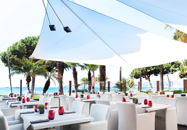 Jw marriott cannes a five star luxury accommodation for Terrace hotel restaurant