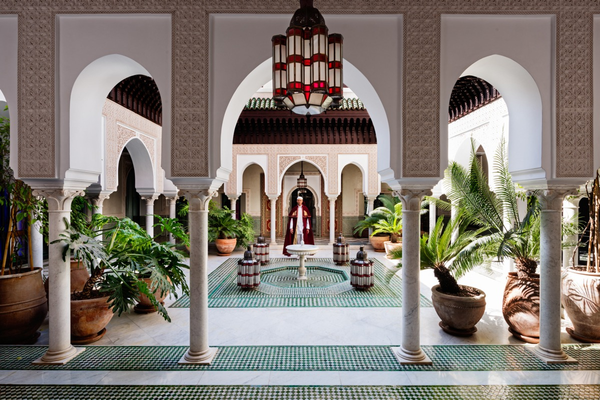 La Mamounia Hotel Welcomes You with its Incredible Design