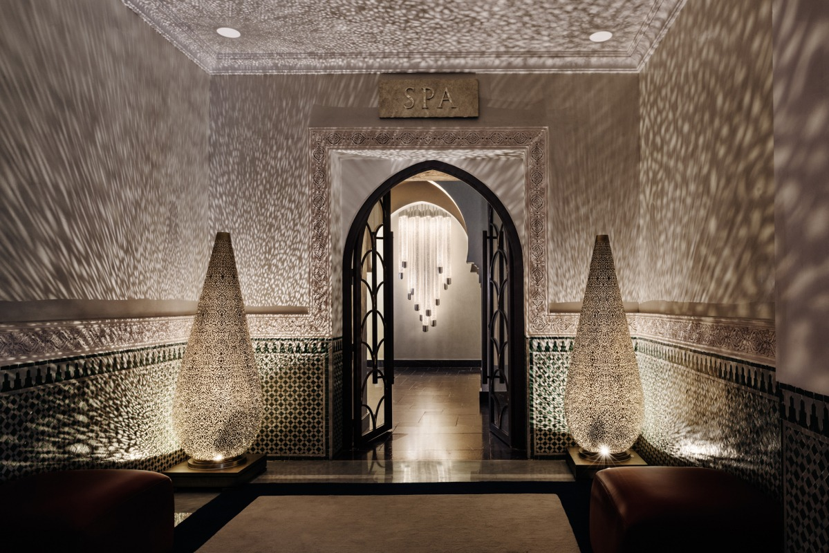 La Mamounia Hotel has 2500 sq Meters SPA Center