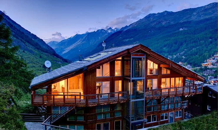 luxury swiss chalet