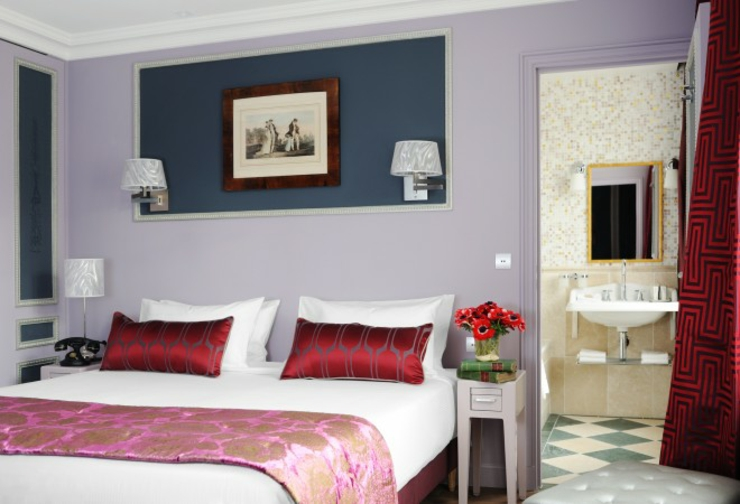romantic trip to Paris boutique stay