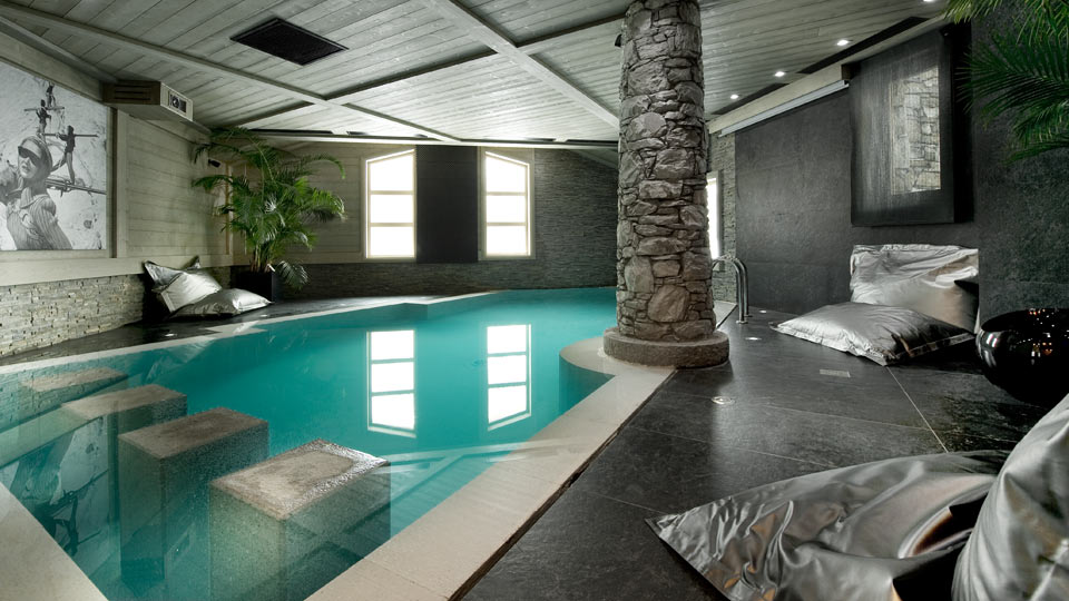 Chalet perle blanche get a luxury relax in french alps Barcelona hotel with indoor swimming pool