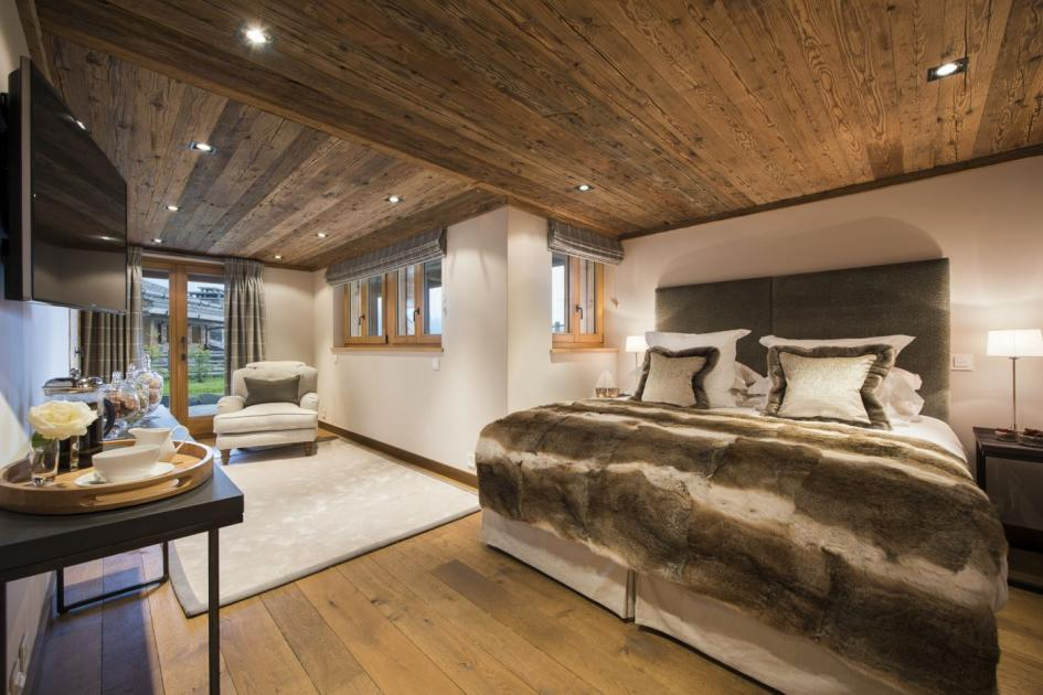 home theater design ideas pictures - Chalet Sirocco for Luxury Winter Vacation in 4 Valleys
