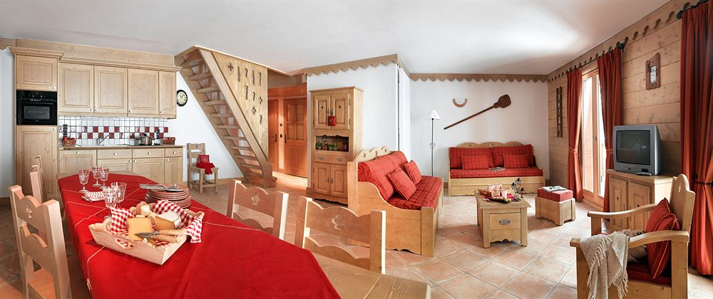 luxury boutique hotel suite french alps ski vacation