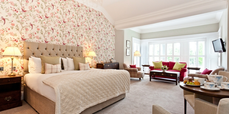 british interior luxury design suite