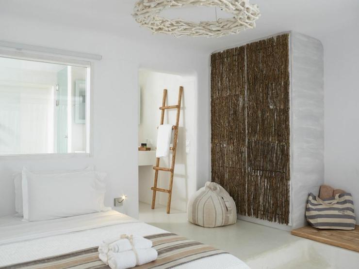Rocabella mykonos hotel art interior with exotic spa relax for Designhotel island