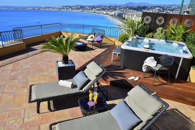 hotel la perouse spacious terrace with breathtaking views