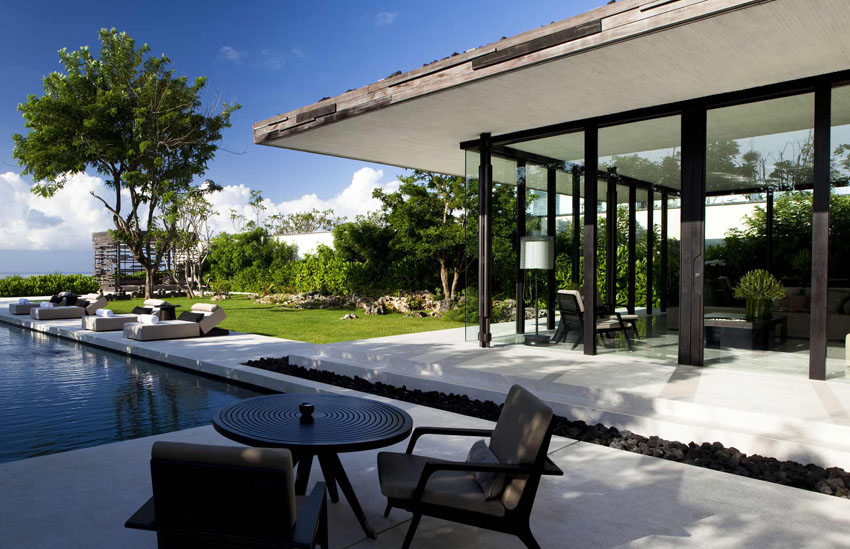 touristic luxury villa exotic vacation bali