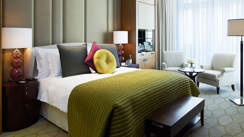 corinthia rooms view over london luxury stay downtown city