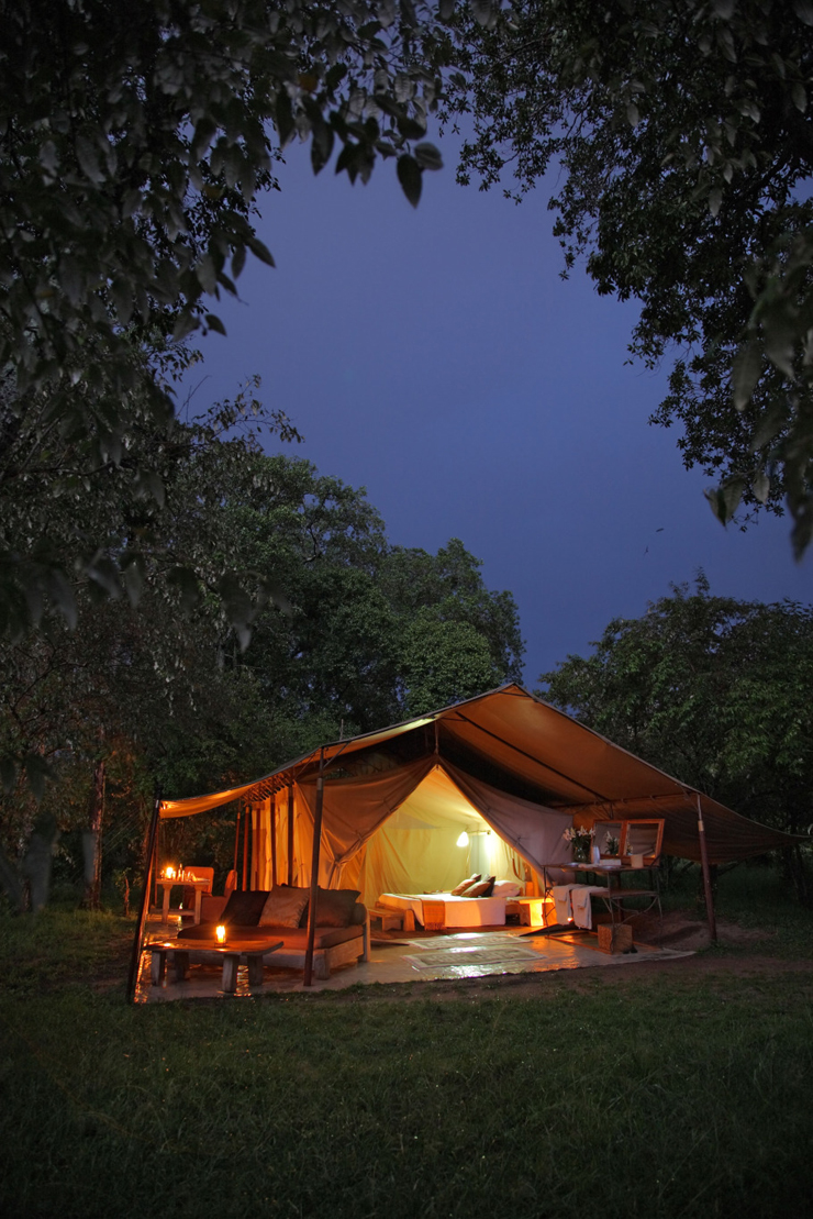 Parfait Romantic And Creative Idea For Unforgettable Vacation In Africa. Beautiful  Landscape For Unique Safari In Kenya. Naibor Camp ...